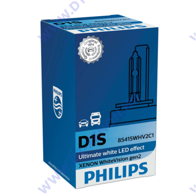 Philips D1S WhiteVision gen2 85415WHV2 Xenon izzó