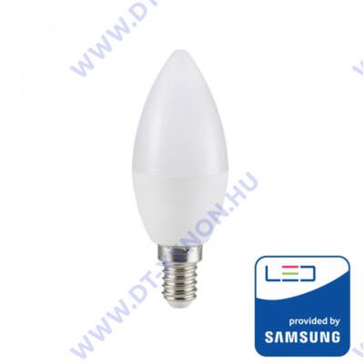 V-TAC E14 gyertya LED 5.5W (=40W) 4000K VT-226 / SKU-172
